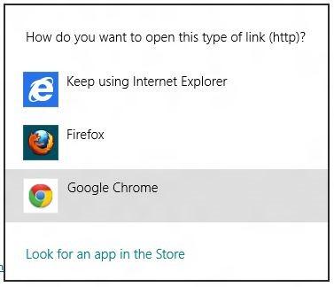 Google Chrome Metro para Windows 8 Foto 1