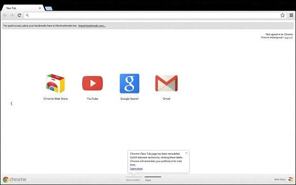 Metro do Google Chrome