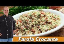 Farofa Crocante - Chef Taico