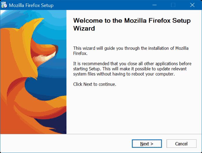 Instalador offline de 64 bits para Firefox (2)
