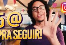 5 MELHORES PERFIS de AUDIOVISUAL pra SEGUIR NO INSTAGRAM