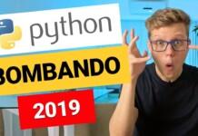 PYTHON TA BOMBANDO!!! VOCÊ VIU ESSE GRÁFICO?!?! [2019]