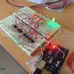 Circuito de Relógio Digital de 7 Segmentos com Arduino