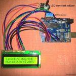 Medidor digital de temperatura e umidade com Arduino