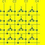 Como conectar o teclado 4x4 ao Arduino