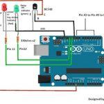 Circuito de bloqueio de segurança de senha com Arduino e teclado 4 × 4