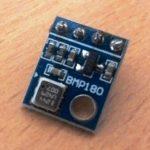 Circuito do sensor de pressão barométrica com Arduino