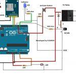 Circuito de segurança a laser baseado em SMS usando Arduino