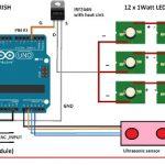 Redutor de iluminação de rua automático com Arduino