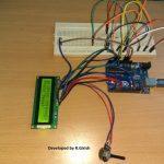 Circuito de cronômetro automático para corredores