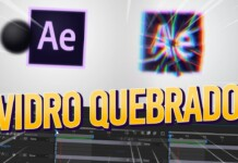 QUEBRANDO TUDO no AFTER EFFECTS - Efeito Shatter Vidro Quebrado