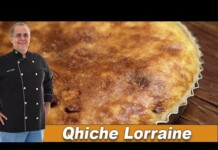 A Quiche Lorraine mais gostosa do Chef Taico