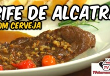Bife de Alcatra com Cerveja - Tv Churrasco