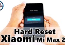 Hard Reset Xiaomi Mi Max 2, Como formatar, Restaurar