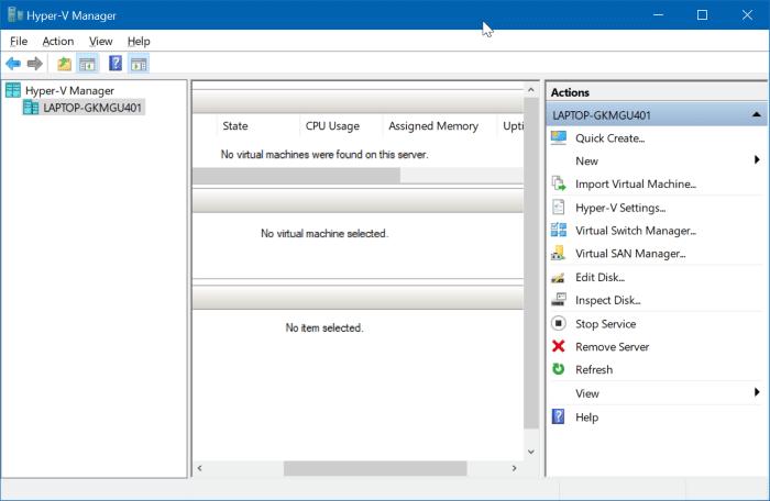 ativar o hyper-v no Windows 10 pic01