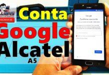 Conta Google Alcatel A5 sem PC, Desbloquear, Restaurar