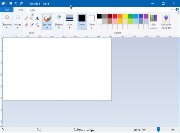 como instalar ou desinstalar o microsoft paint no windows 10