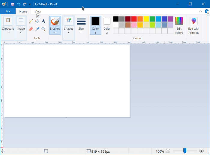 instalar ou desinstalar o Microsoft Paint no Windows 10