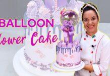 COMO FAZER UM BALLON FLOWERS CAKE