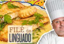 FILÉ DE LINGUADO COM ESPINAFRE | ERICK JACQUIN