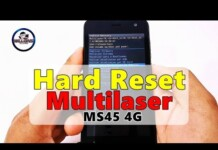 Hard Reset Multilaser MS45 4G, Como formatar, Restaurar, Desbloquear