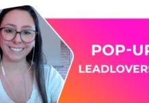 POP-UP leadlovers :: Uso Interno e externo.
