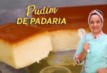 PUDIM DE PADARIA SIMPLES TAMANHO FAMILIA - CHEF LÉO OLIVEIRA