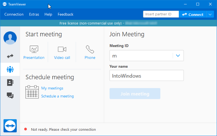 Download teamviewer 14 grátis para Windows 10 pic1