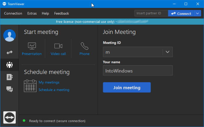 Download teamviewer 14 grátis para Windows 10 pic2