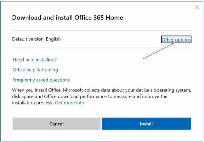 Baixar pic2 do instalador offline completo do Office 365