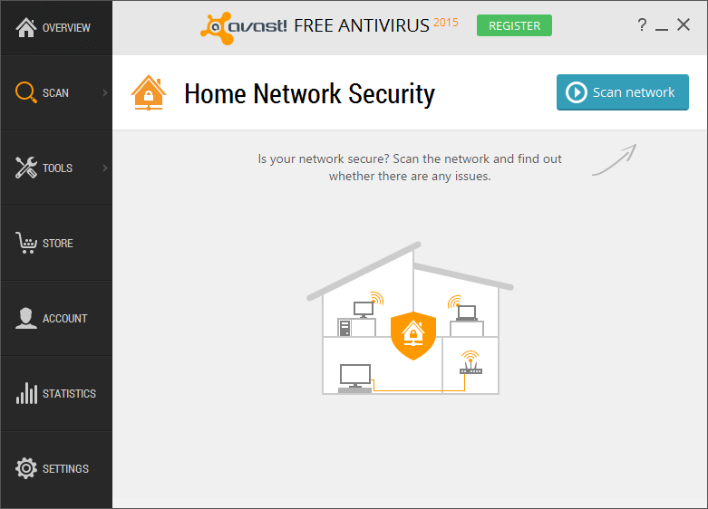 Avast Free Antivirus para Windows 10